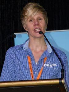 MLA chief marketing and communications officer Lisa Sharp