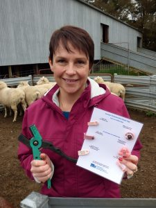 Victorian Minister for Agriculture Jaala Pulford announces another $400,000 for EID transition.
