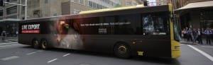AnimalsAustralia bus billboardJan2015