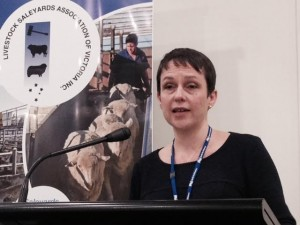 Victorian Minister for Agriculture Jaala Pyulford opens the LSAV conference