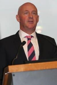 AWI chief executive officer Stuart McCullough