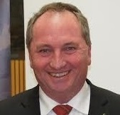 Minister for Agriculture Barnaby Joyce